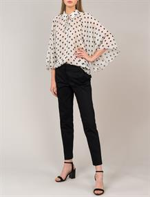 Summum blouse 2s2405-11170 in het Wit