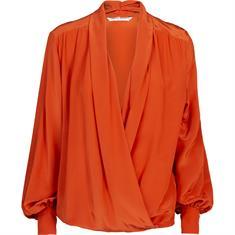 Summum blouse 2s2451-11233 in het Oranje