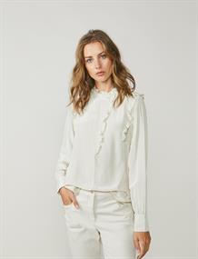 Summum blouse 2s2454-11233 in het Beige
