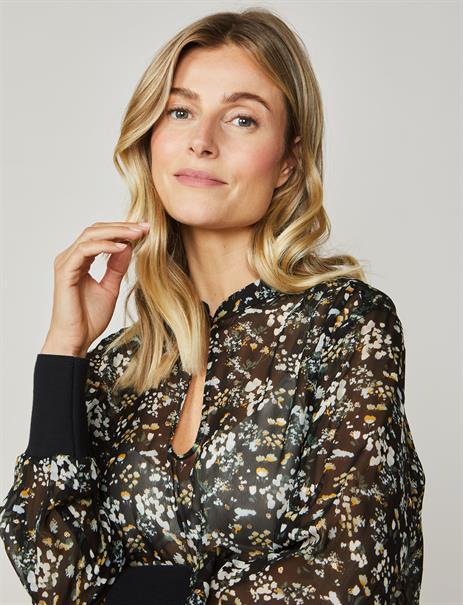 Summum blouse 2s2478-11232 in het Zwart