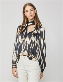 Summum blouse 2s2481-11244 in het Zwart