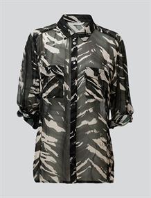 Summum blouse 2s2482-11231 in het Groen