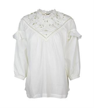 Summum blouse 2s2542-11401 in het Beige