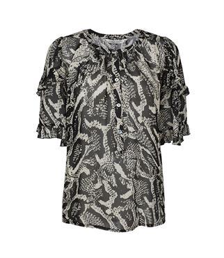 Summum blouse 2s2549-11371 in het Zwart