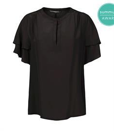 Summum blouse 2s2554-11361 in het Zwart