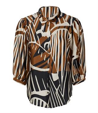 Summum blouse 2s2561-11358 in het Ecru