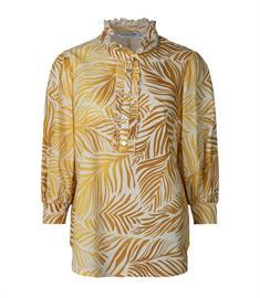 Summum blouse 2s2568-11373 in het Oker