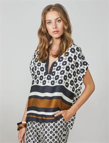 Summum blouse 2s2572-11372 in het Ecru