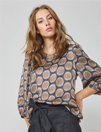 Summum blouse 2s2585-11360 in het Brique