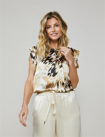 Summum blouse 2s2596-11415 in het Groen