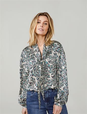 Summum blouse 2s2613-11517 in het Ecru