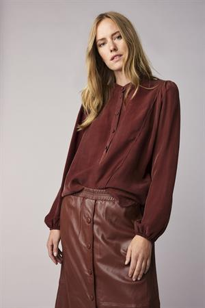 Summum blouse 2s2617-11509 in het Brique