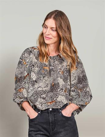 Summum blouse 2s2624-11471 in het Zwart
