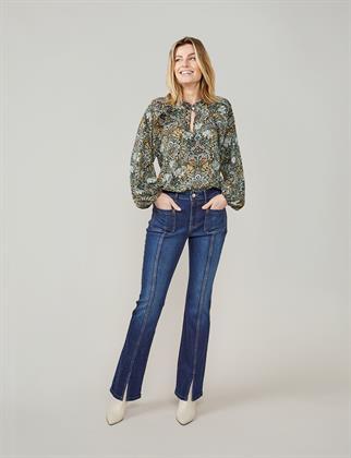 Summum blouse 2s2647-11514 in het Ecru
