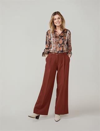 Summum blouse 2s2653-11527 in het Ecru