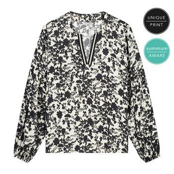 Summum blouse 2s2677-11543 in het Ecru