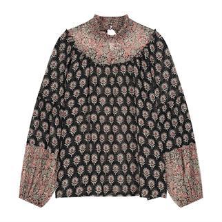 Summum blouse 2s2682-11544 in het Zwart