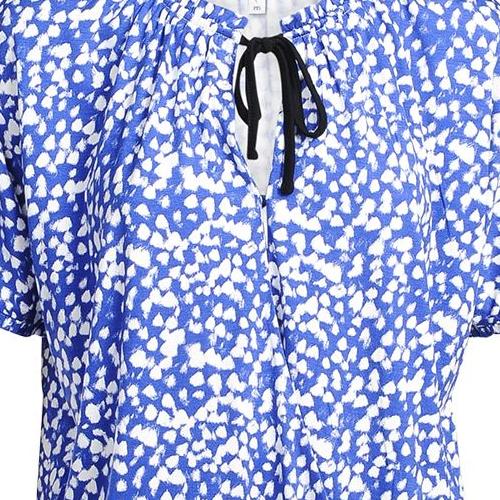 Summum blouse 3s4391-30134 in het Marine