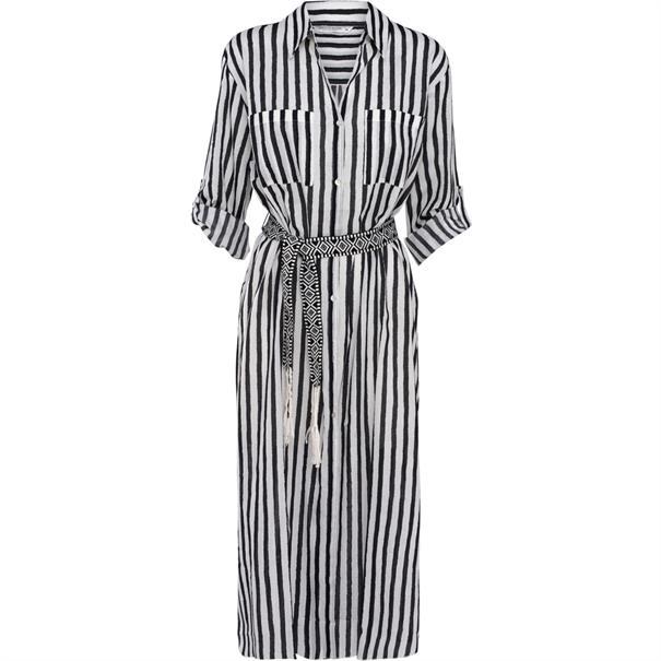 Summum jurk 2s2236-10913 in het Zwart