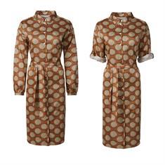 Summum jurk 2s2556-11385 in het Brique