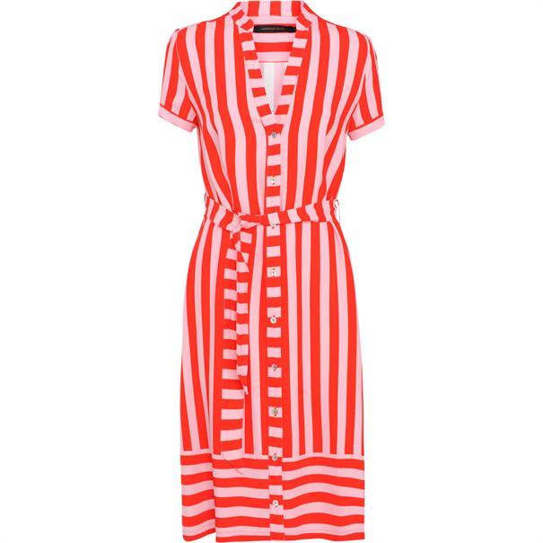 Summum jurk 5s1058-10893 in het Rood