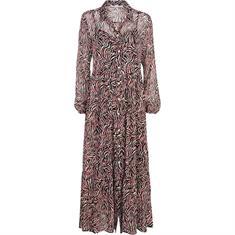 Summum jurk 5s1139-11125A in het Wit/Blauw