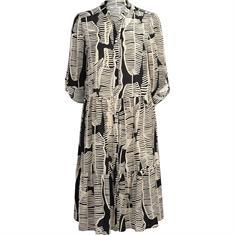 Summum jurk 5s1140-11120 in het Zwart