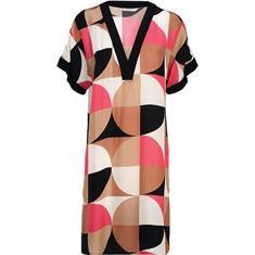 Summum jurk 5s1146-11117 in het Wit/Blauw
