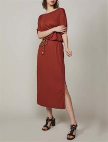 Summum jurk 5s1183-30163 in het Bruin