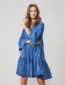 Summum jurk 5s1232-11413 in het Kobalt