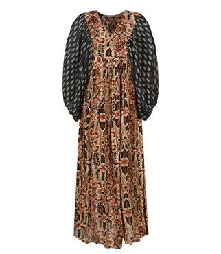 Summum jurk 5s1233-11406 in het Brique
