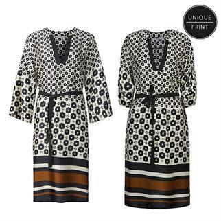 Summum jurk 5s1253-11372 in het Ecru