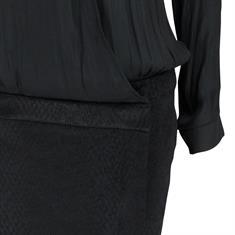 Summum jurk 5s611-2796 in het Zwart