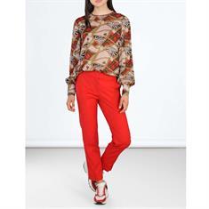 Summum pantalons 4s1850-10955 in het Rood