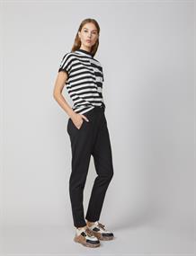 Summum pantalons 4s2029-11239 in het Zwart