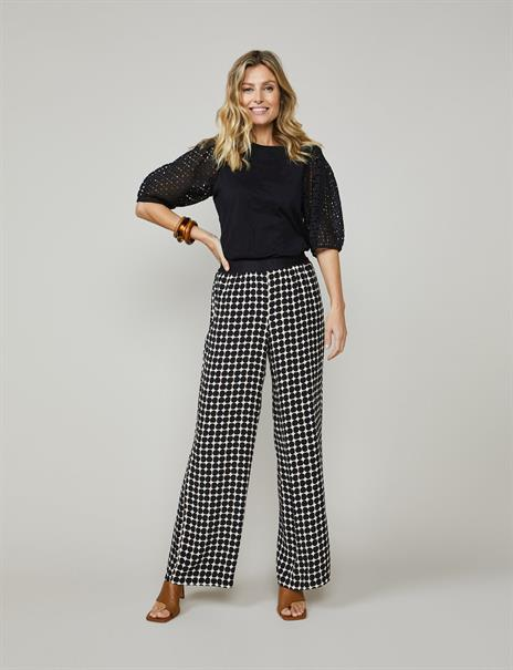 Summum pantalons 4s2152-11440 in het Ecru