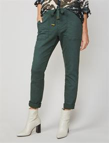 Summum pantalons Slim Fit 4s2005-11290 in het Mint Groen