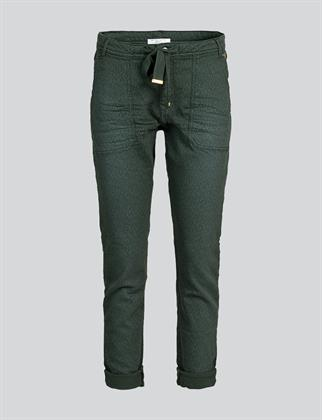 Summum pantalons Slim Fit 4s2005-11290 in het Mint Groen
