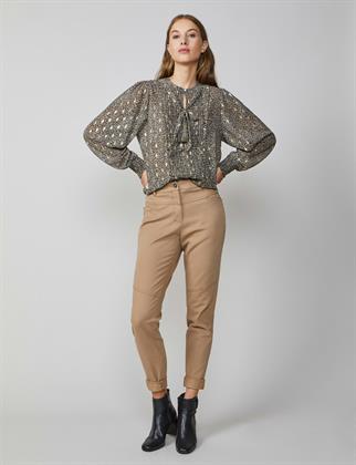 Summum pantalons Slim Fit 4s2030-11225 in het Bruin