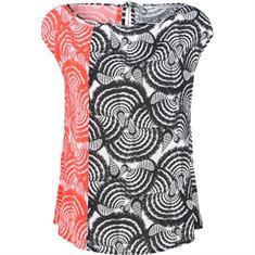 Summum t-shirts 2s2245-10890 in het Wit/Blauw