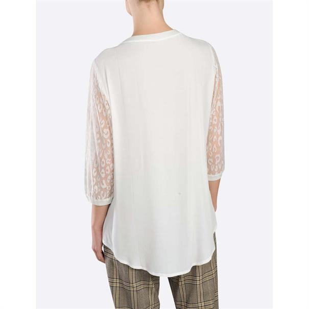 Summum t-shirts 2s2300-11015 in het Beige