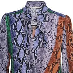 Summum t-shirts 2s2319-10978 in het Wit/Blauw