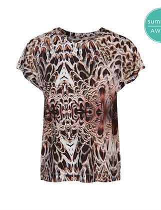 Summum t-shirts 3s4570-30271 in het Brique