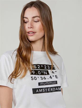Summum t-shirts 3s4578-30285 in het Wit/Groen