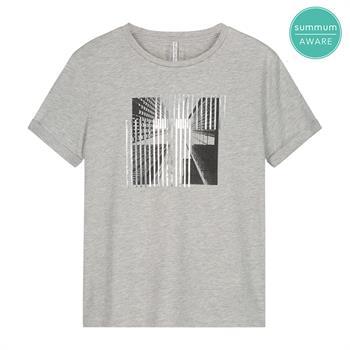 Summum t-shirts 3s4606-30295 in het Licht Grijs