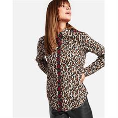 Taifun blouse 460013-11254 in het Camel