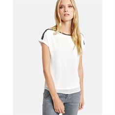 Taifun blouse 471005-16605 in het Offwhite