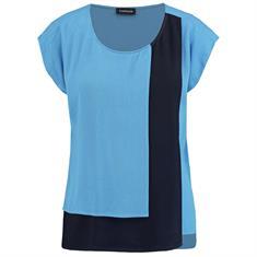 Taifun blouse 960015-11039 in het Blauw