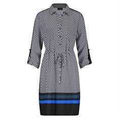 Taifun jurk 480008-11273 in het Kobalt