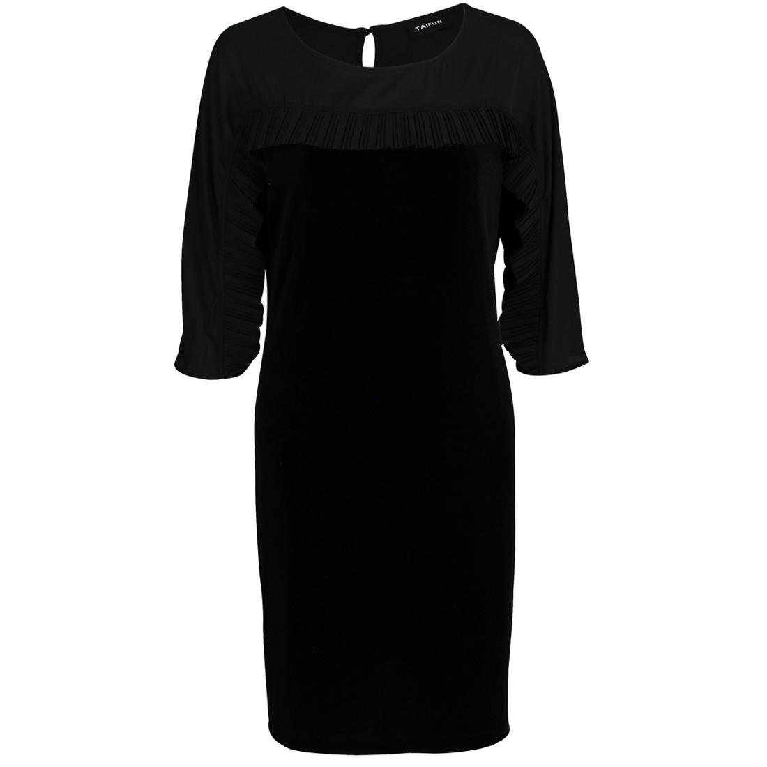 Smit Mode: Taifun jurk 881023 16850 in het Zwart